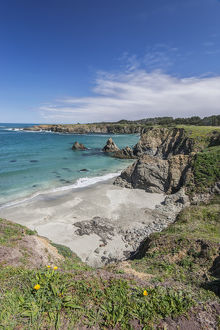 USA, CA, Mendocino County, Jug Handle State Natural Reserve, Jug Handle Cove