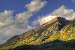 USA, Colorado. Rocky Mountains in autumn