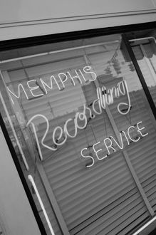 USA, Tennessee, Memphis, Sun Studios, Site of the first recording of Elvis Presley