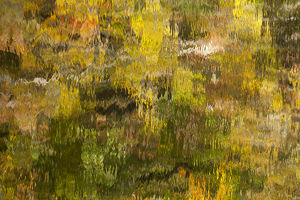 abstract/usa tennessee reflections little river smoky