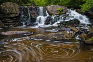 places/usa west virginia blackwater falls state park