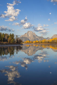 USA, Wyoming, Grand Teton National Park, Mt