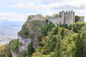 europe/italy/venus castle norman structure 12th century erice