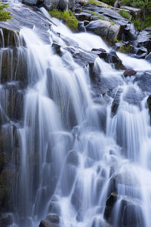 WA, Mount Rainier National Park, Myrtle Falls