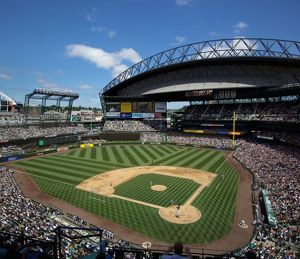 wa seattle safeco field mariners baseball game